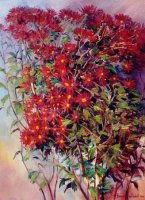 Oil on Stretched Canvas  Size: (610x460x15 )mm,  Framed  SOLD 2002