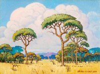 Oil on Stretched Canvas  Size: (407x305x20)mm  Frame: (589x487x40)mm  SOLD 2011