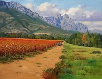 Oil on Stretched Canvas Size: (505x407x18)mm Unframed SOLD 2011