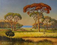 Oil on Stretched Canvas Size: (510x408x18)mm Frame: (690x588x48)mm SOLD 2012 SOUTH AFRICA