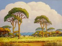 Oil on Stretched Canvas Size: (405x305x18)mm Frame: (605x505x45)mm SOLD 2011 SOUTH AFRICA