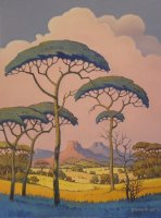 Oil on Stretched Canvas Size: (460x610x18)mm Frame: (640x790x40)mm SOLD 2012 SOUTH AFRICA (Commissioned)